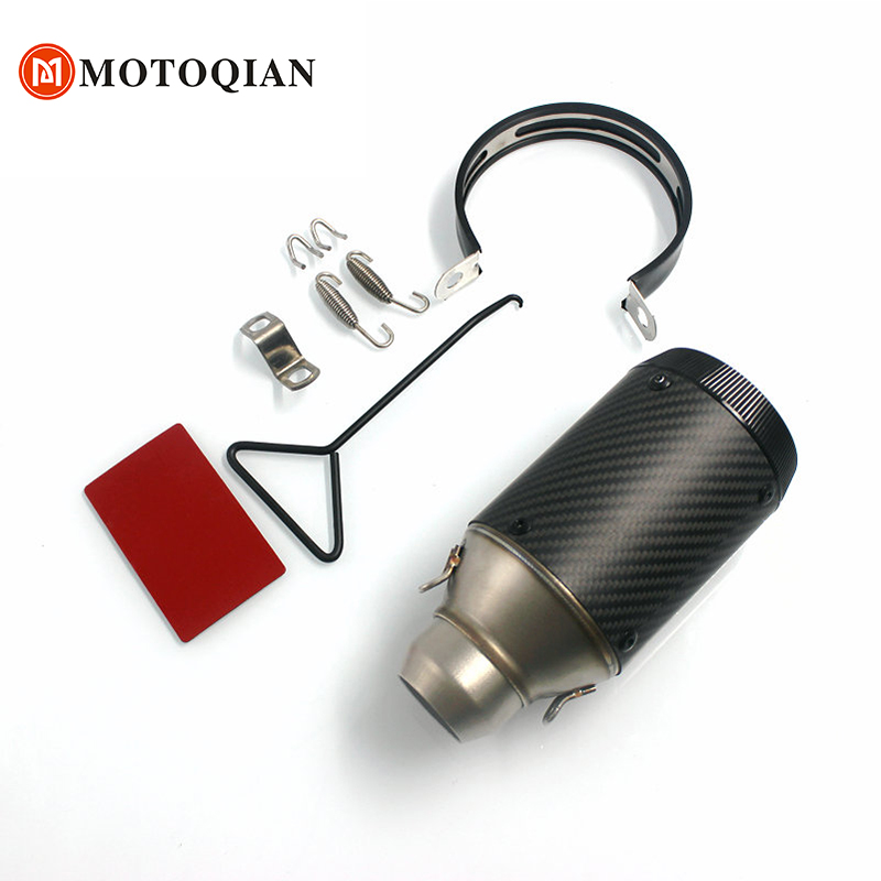 Motorcycle exhaust pipe Muffler for KTM EXC 125 200 250 300 350 400 450 500 530 DUKE 690 390 200 125 accessories moto parts
