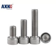 2 DIN912 M5*6/8/10/12/14/16/18/20/25/30 Stainless Steel 304 Hexagon Hex Socket Head Cap Screw