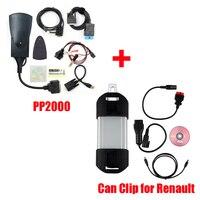 For Renault Can Clip V176 + Lexia3 PP2000 Diagbox V7.83 Lexia 3 Lexia 3 V48 PP2000 V25 OBD2 Diagnostic Tool by DHL