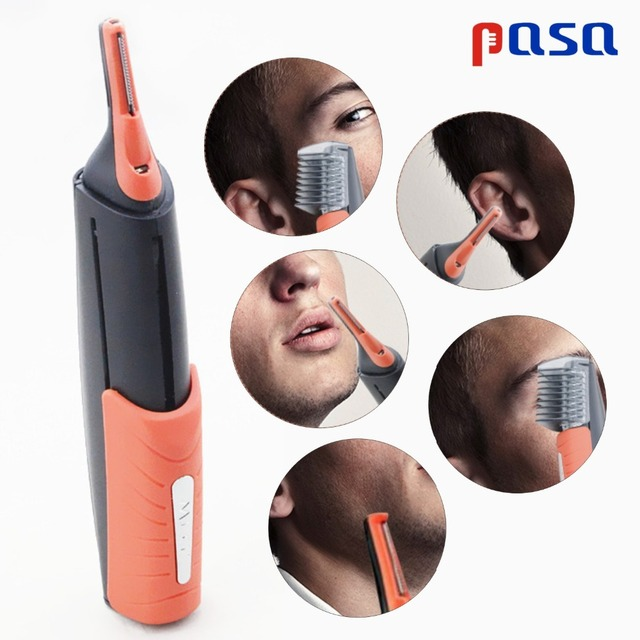 Micro Precision Eyebrow Ear Nose Trimmer Removal Clipper Shaver Unisex Personal Electric Face Care Hair Trimer With LED Light 1