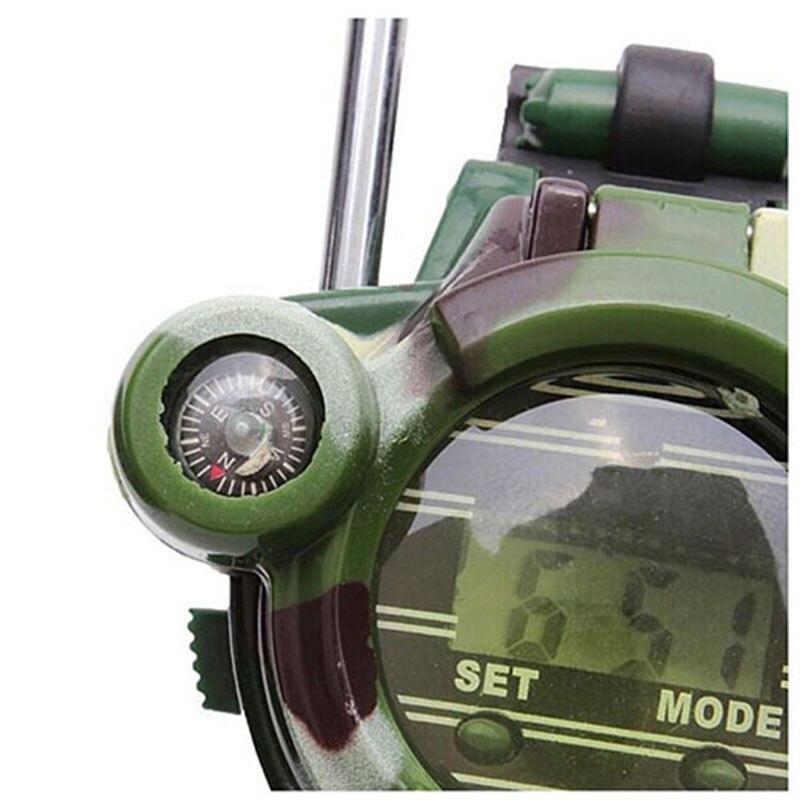 KEOL-2PCS Children Toy Walkie Talkie Child Watches Interphone Outdoor Magical