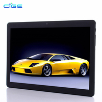 CIGE 2018 Newest Android 7.0 Deca Core 10 inch Tablet PC 4GB RAM 64GB ROM 8MP WIFI GPS 4G LTE 2.5D Tempered Glass IP 1920X1200