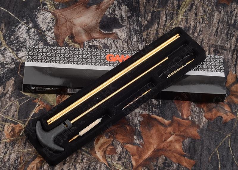 Polowanie strzelanie Gamo Rifle shotgun czyszczenie miedzi szczotka Cal: .177   .22 M9281 gun cleaning hunting shootinggun cleaning brushes -