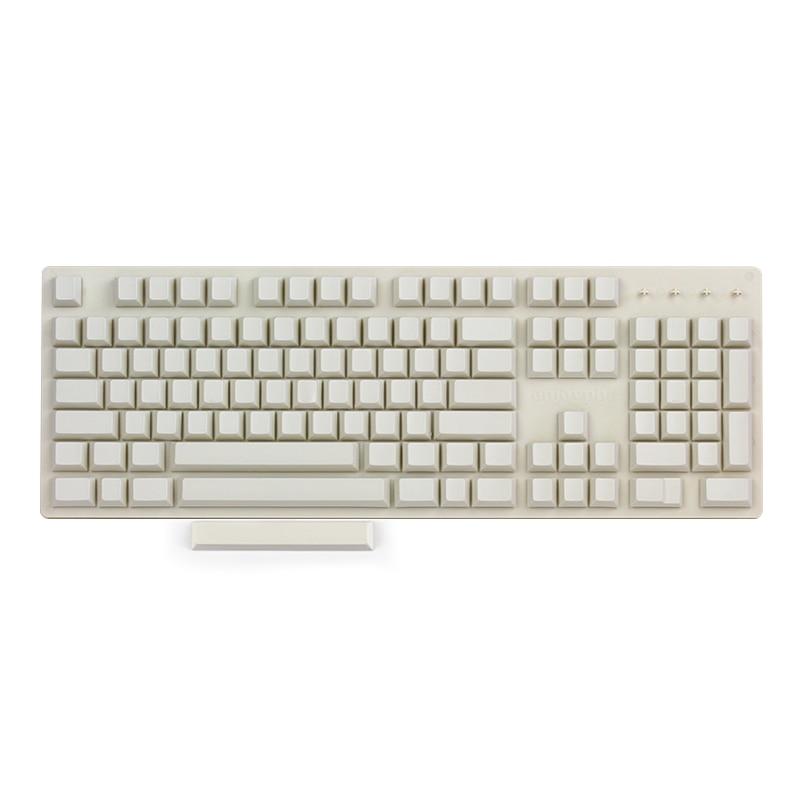 Enjoypbt keycap blanco lechoso cereza perfil 117 teclas para teclado mecánico cherry mx-in Teclados from Ordenadores y oficina on AliExpress - 11.11_Double 11_Singles' Day 1