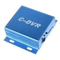 Nowy KANAŁ Mini CCTV Nadzoru DVR Wsparcie TF Karty Audio rekord Detekcji Ruchu REJESTRATOR Cyfrowy Rejestrator Wideo VGA dla CCTV kamera