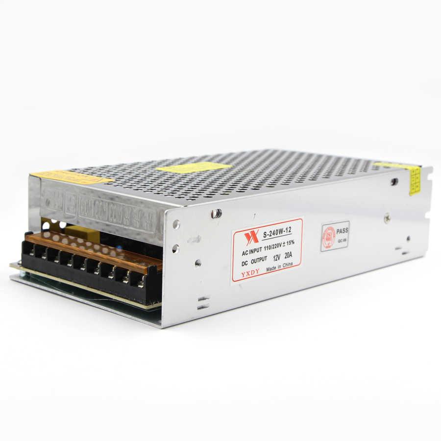 LED ストリップ電源 AC 110V 220 に 12V スイッチングドライバアダプタ 5A 10A 15A 20A 30A 50A トランス Led ストリップライト用 CCTV