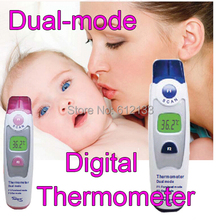 Dual Mode Infrared Digital Thermometer Temperature Forehead Temperature Ear Temperature safe for children Adult