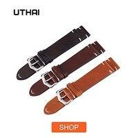 утхай z14 добавьте часы браслет ремень бизнес для мужчин ремешки из натуральной кожи ремешок для часов 20 мм 20 мм 22 мм 26 мм аксессуары для часов