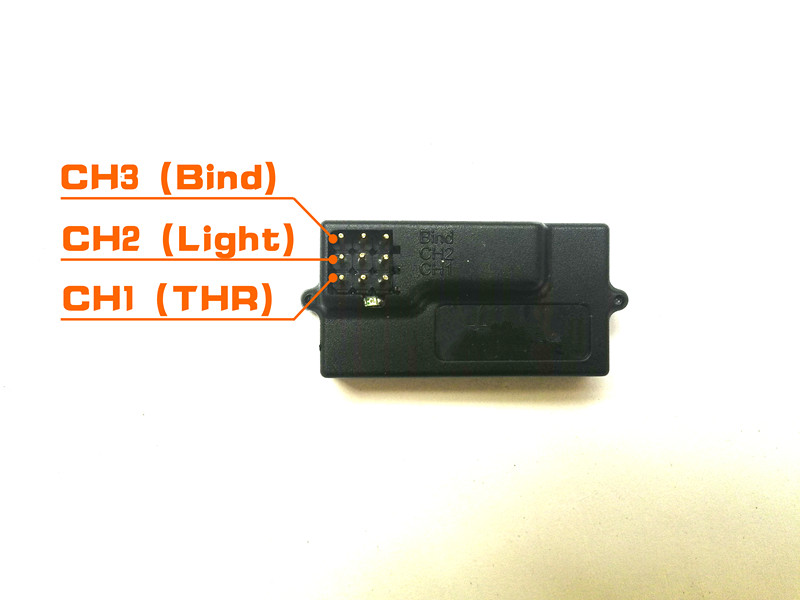 Receiver Only For 2.4Ghz Mini Remote Controller Free Shipping By Post