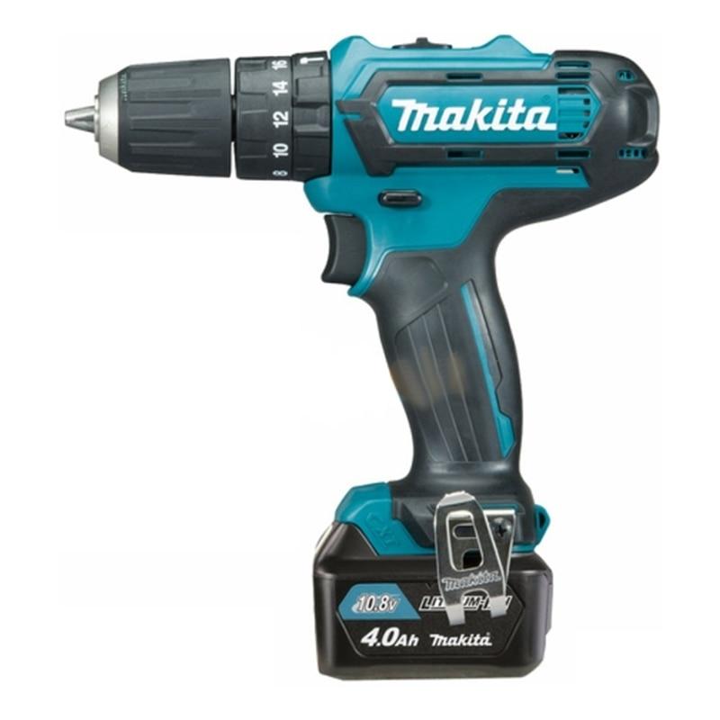 Cordless drill battery Makita HP331DWME hq 12v cordless die grinder 6 speed cordless mini grinder 5000 32000rpm 2pcs 12v battery 3 0mm chuck
