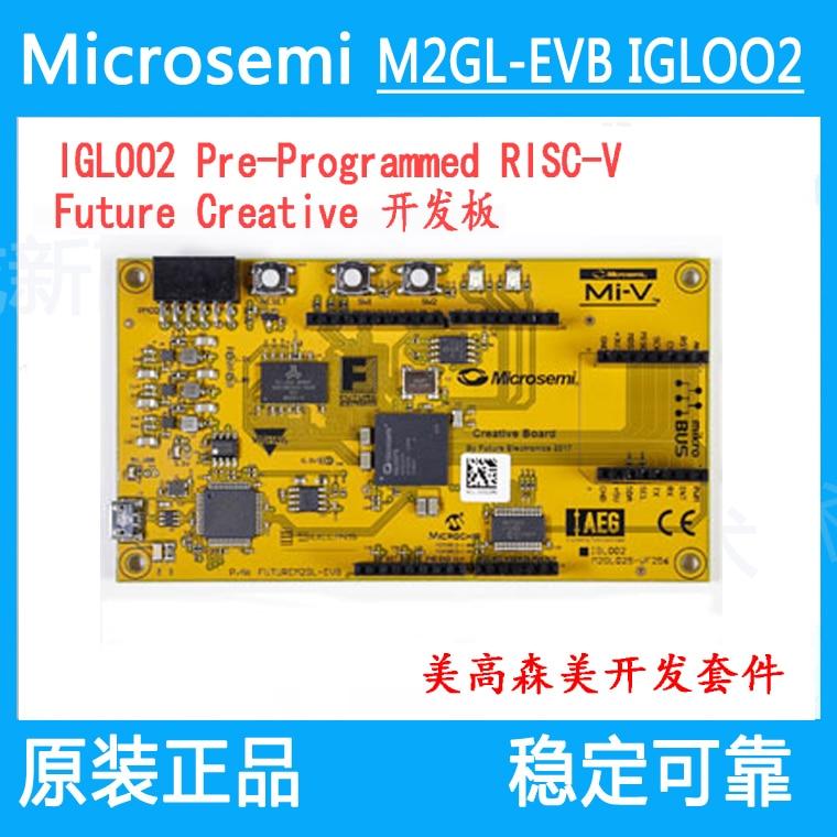 M2GL-EVB IGLOO2 Pre-Programmed RISC-V Future MicrosemiM2GL-EVB IGLOO2 Pre-Programmed RISC-V Future Microsemi