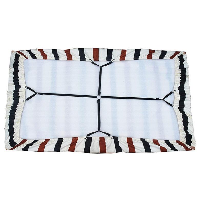Soporte elástico de la sábana de la cama soporte de colchón elástico sábana suaviza las correas de la sábana camas soportes de la sábana-in Cinta adhesiva de velcro from Hogar y jardín on Aliexpress.com | Alibaba Group