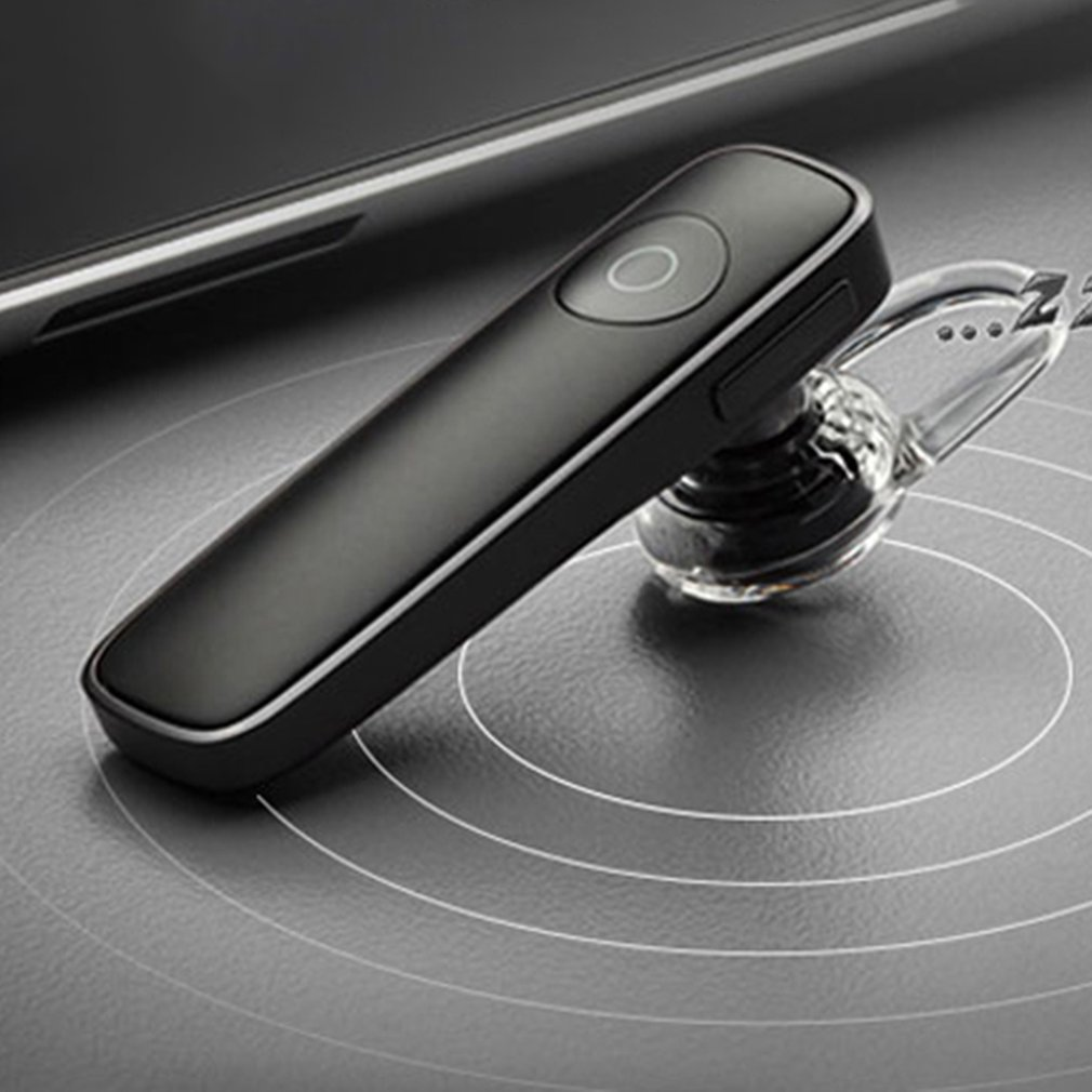 M165 mini Bluetooth 4.1 Headset Wireless Earphone with Microphone Volume Adjustable for iPhone Xiaomi Android Phone iPad Macbook