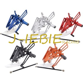 CNC Racing Rearset Adjustable Rear Sets Foot pegs Fit For Honda CB400 VTEC1 VTEC2 VTEC3 VTEC4 1999-2008