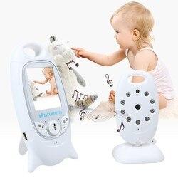 Monitor de bebé 3,2 pulgadas de vídeo inalámbrico de alta resolución Nanny seguridad cámara de visión nocturna monitoreo de música Radio electrónica