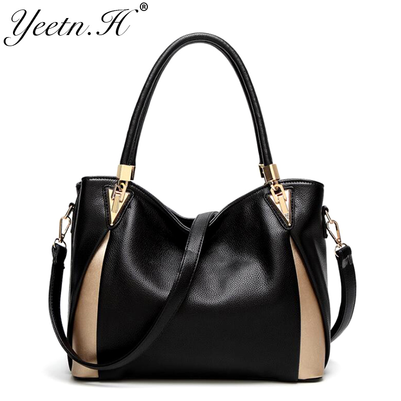 Yeetn.H fashion luxury women handbag split leather high quality female messenger bag woman shoulder bag sac a main M2267 pu high quality leather women handbag famouse brand shoulder bags for women messenger bag ladies crossbody female sac a main