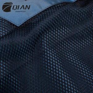 Image 5 - QIAN RAINPROOF Professionalผู้ใหญ่กลางแจ้งRainsuitซ่อนRainhatแฟชั่นMulti Functionalหนาเสื้อกันฝนคุณภาพสูง
