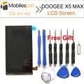 Doogee x5 max pro pantalla lcd 100% original digitalizador asamblea pantalla lcd de reemplazo de pantalla para doogee x5 max smartphone