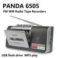 PANDA 6505 Radio fm am do rejestracji na taśmie pamięć usb MP3 grać Radio odtwarzacz kasetowy