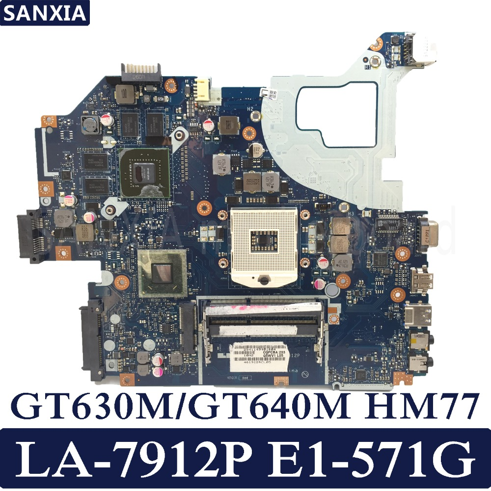 KEFU LA 7912P Laptop motherboard for font b ACER b font Aspire E1 571G V3 571G