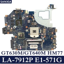 KEFU LA-7912P Laptop motherboard for ACER Aspire E1-571G V3-571G V3-571 original mainboard GT630/GT640 HM77