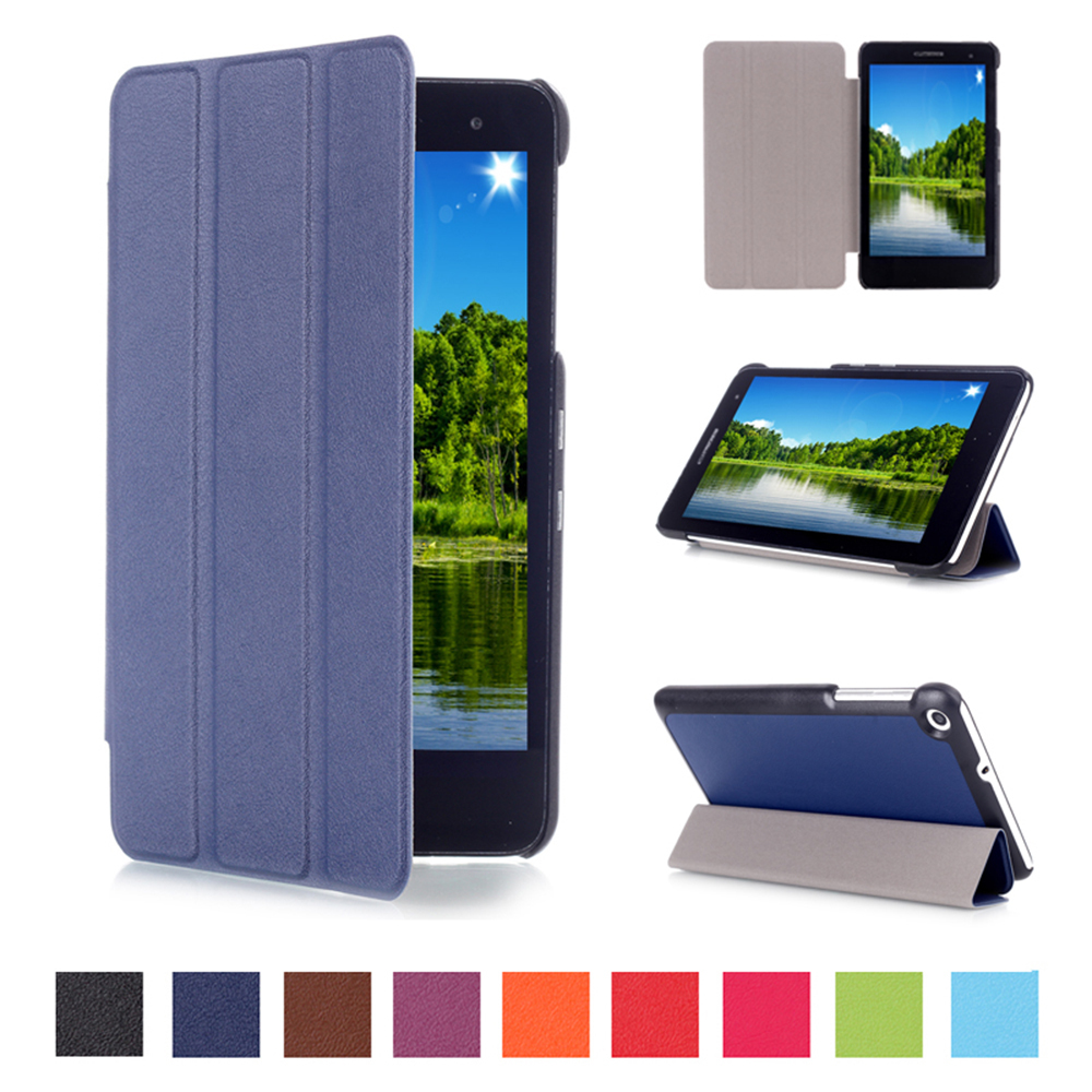 3 In 1 Top Quality Smart Stand Pu Leather Case Cover For Huawei Mediapad T1 7.0 Tablet Huawei T1 7.0 T1-701U Case+Film+Stylus