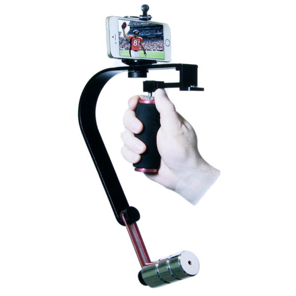 Système de stabilisation de téléphone portable pour caméscope vidéo DSLR pour appareil photo DV