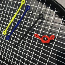 100pcs Long P Silicone Tennis Damper Shock Absorber to Reduce Tenis Racquet Vibration Dampeners
