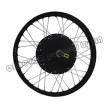 11.11 shopping festival kit bicicleta Elétrica 3000 w Motor Do Cubo com 19 18 17 polegada polegada polegada Ciclomotor aro Da Roda