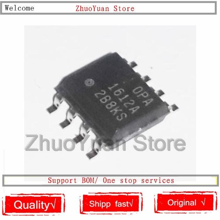 10PCS lot OPA1612AIDR OPA1612A OPA1612 OPA 1612A OPA1612AID SOP8 IC Chip New Original