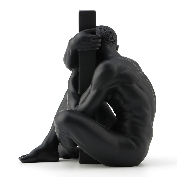 Modern Resin Body Art Nude Male Sculpture Abstract Boy Statue Character Gay Figurine Thinker Decoration Home Accessories Gifts