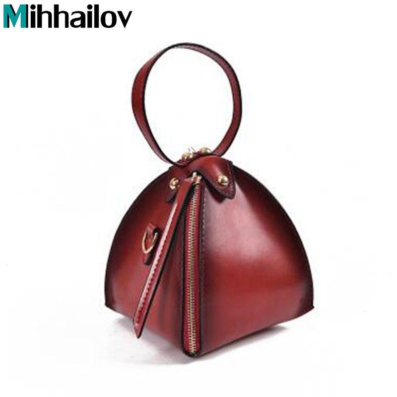 Fashion Women Bag Messenger Corossbody Shoulder Bag Triangle Lantern Solid Mini Handbag For ladies Female Bolsa Feminina XS-446