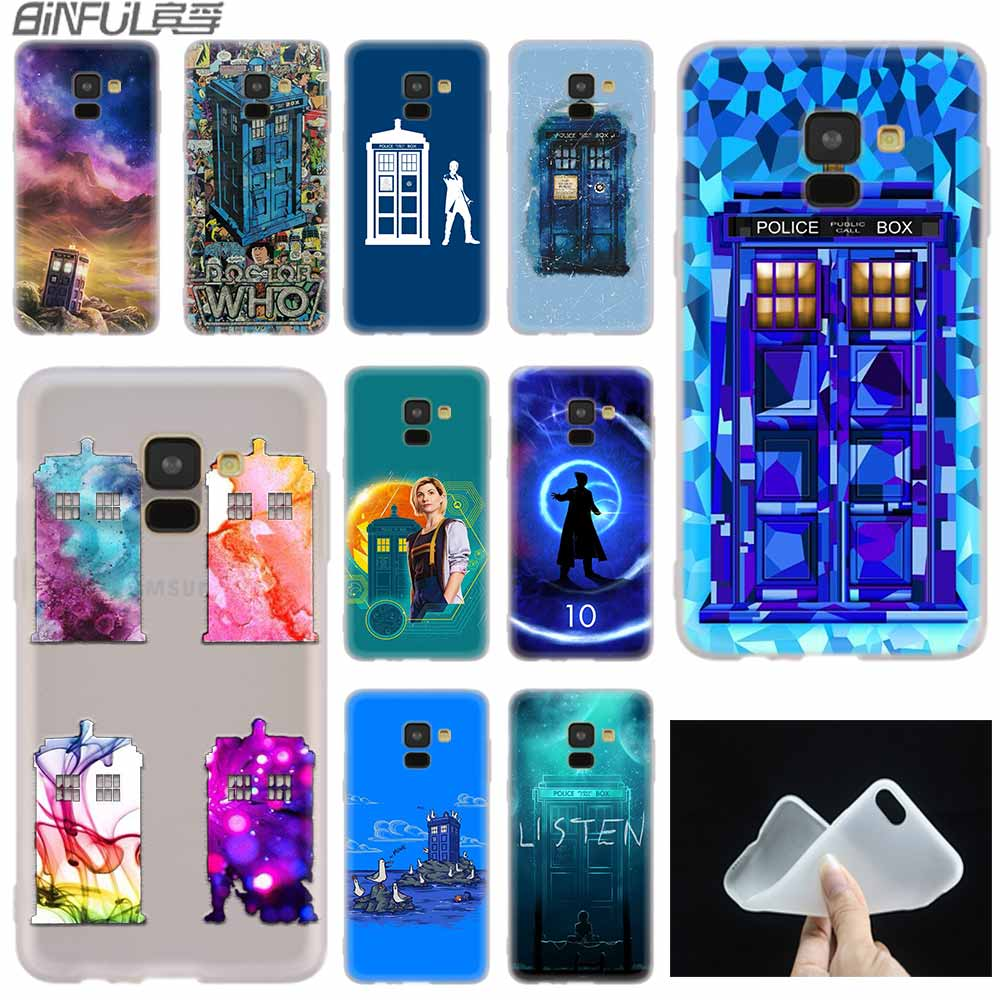 Phone Bags & Cases Search For Flights Kmuysl Tardis Box Doctor Who Dw Tpu Transparent Soft Case Cover Shell Coque For Samsung Galaxy S9 S8 Plus S7 S6 Edge Cellphones & Telecommunications