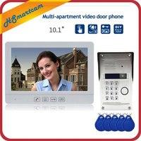 10 HD дверной звонок взрывозащищенные Камера видео домофон Системы RFID клавиатуры и подключения 1 шт. CCTV камера