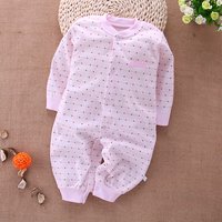Baby Clothing 2017 New Newborn Baby Boy Girl Rompers Toddler Clothes Long Sleeve Infant Product Autumn
