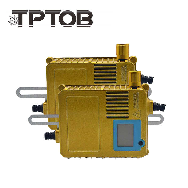 TPTOB 2pcs HID Bi Xenon Slim Replacement Ballast Reactor Light For H1 H3 H7 9006 Adjustable 35 W-200 W Digital Display