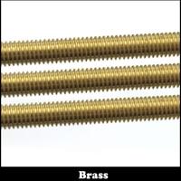 M18 M20 M18*500 M18x500 M20*500 M20x500 500mm Long Brass Metric Bolt Full Thread Shaft Rod Bar Stud
