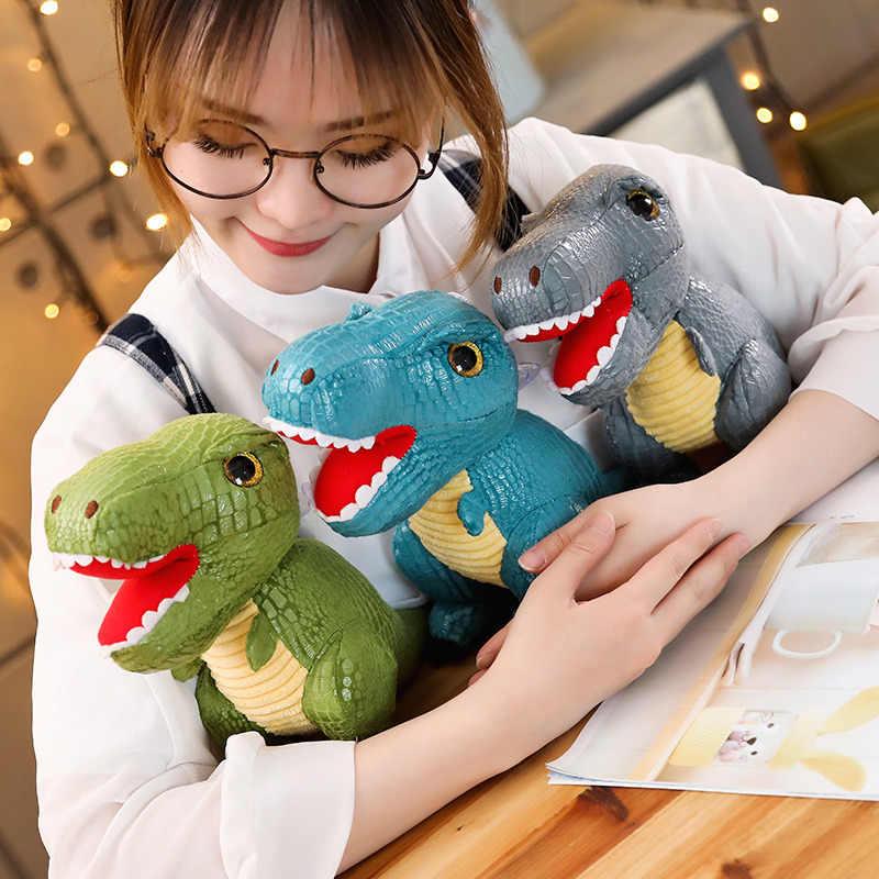Legal dinossauro Tiranossauro Rex Plush soft toy stuffed boneca animal de alta qualidade presentes presente de aniversário das Crianças