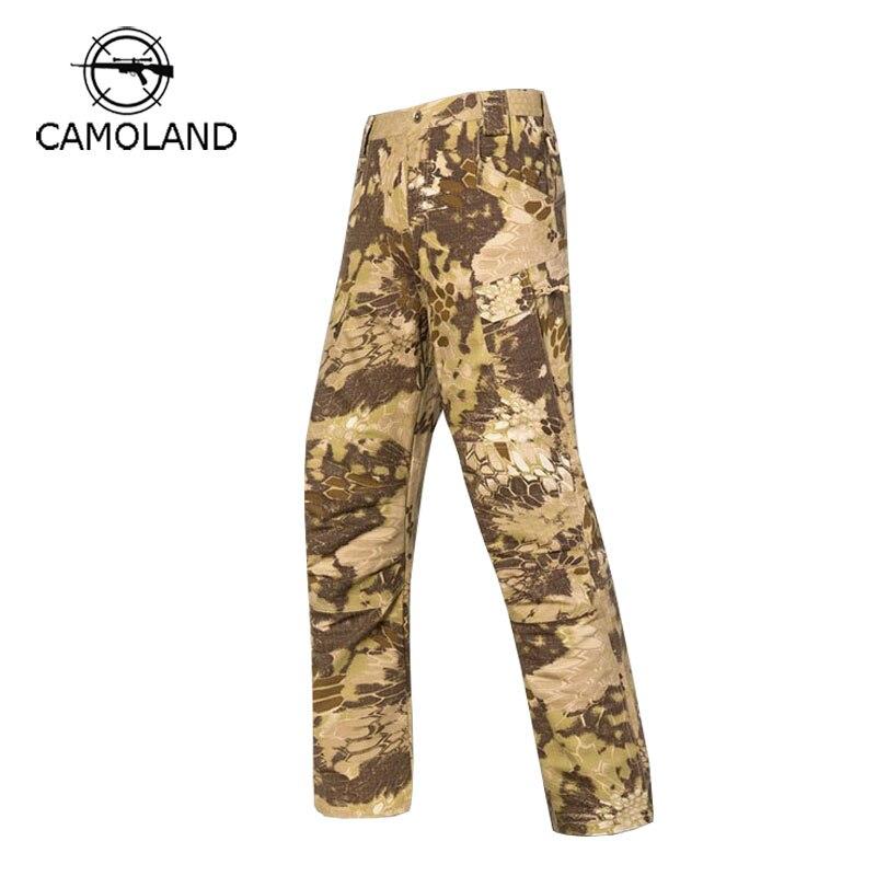 Tactique IX7 hommes Cargo pantalons décontractés Combat SWAT armée Active militaire pantalon armée Camouflage pantalon respirant Camo pantalon