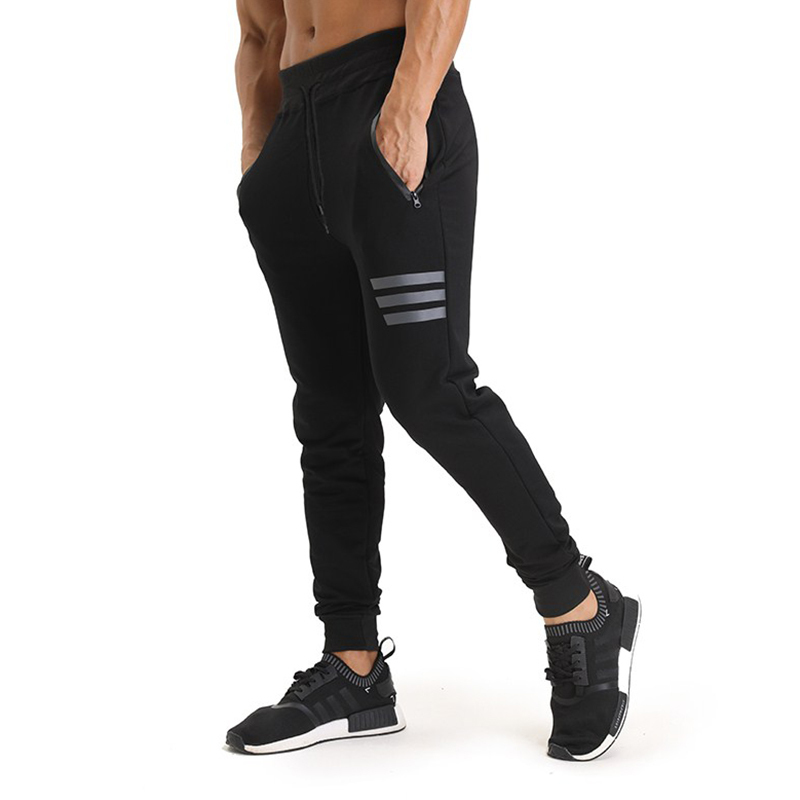 Men Sport Pants Jogging Leggings Running Pants Tight Compression Gym Training Workout Exercises Trousers брюки accelerate tight