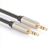 Green Av125aux Audio Cable Vehienlar 3 5mm Mobile Phone Earphones Audio Speaker For Decrustation