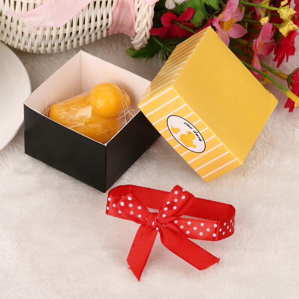 Cute Wedding Party Ideas: Surprise Creative Soap Handmade Yellow Duck Cute Wedding