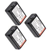 3 Pack 2000mAh NP FW50 FW50 NPFW50 Batteries ForSONY CAMERA NEX 5CK NEX 5D NEX 5C