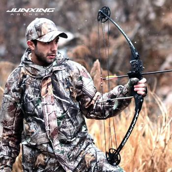 Junxing M183 model 35lbs-60lbs Archery Compound Bow with Complete Accessories for Shooting Hunting Fishing  Bows - discount item  32% OFF Hunting