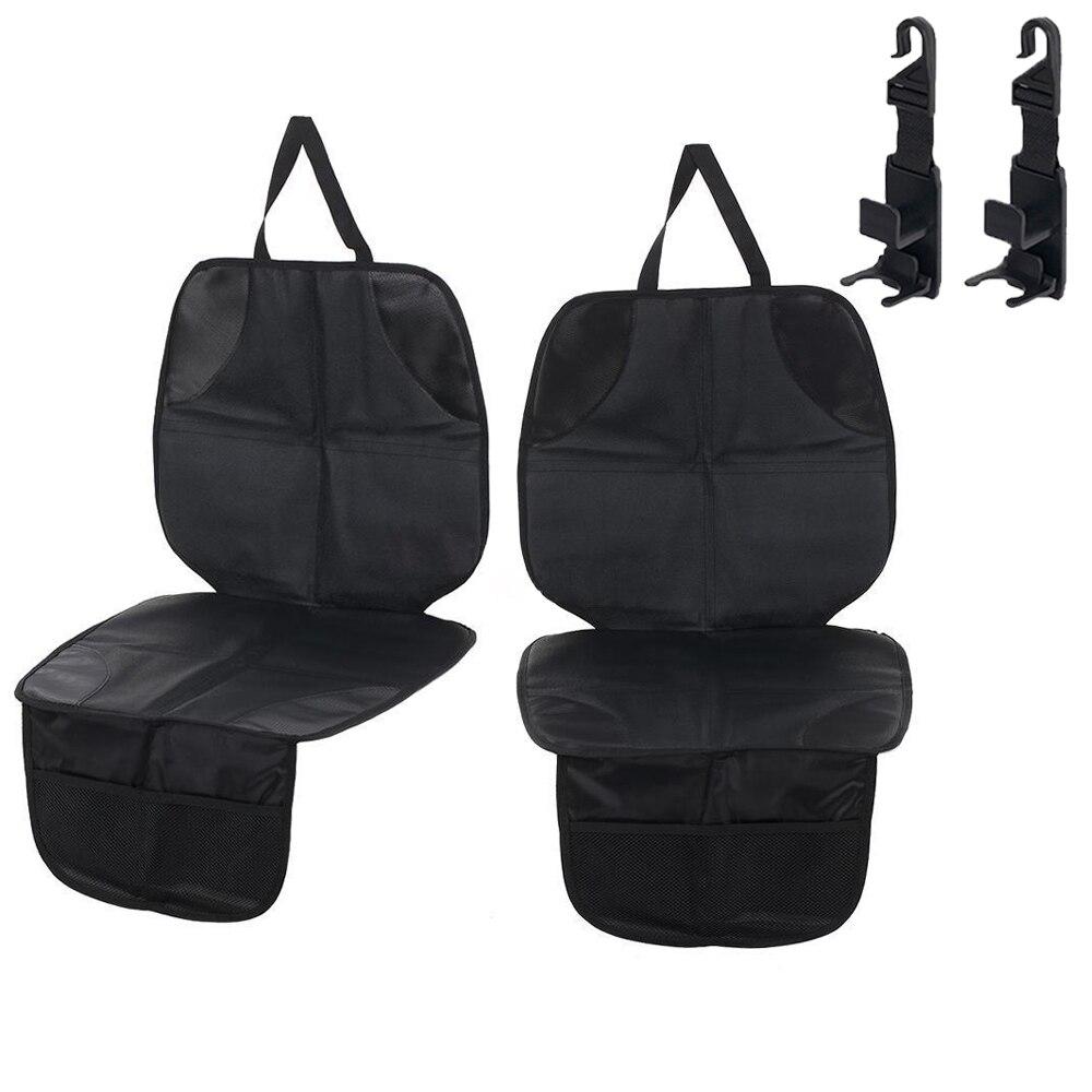 Lonnod housse de siège de voiture Pad pour enfant bébé sièges de voiture chien tapis protège siège de voiture protecteur véhicule tissu rembourrage 1 pièce