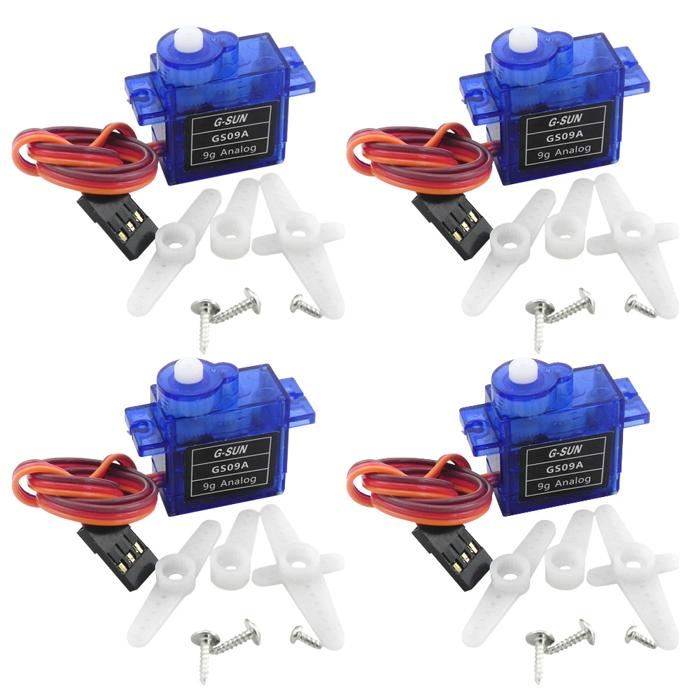 4X Rc Mini Micro sg90 9g Servos for Arduino Board RC 250 450  DIY Smart Vehicle Rc Helicopter Airplane Foamy Plane Robot Car high quality airplane helicopter mg90s metal geared micro 9g servo for plane boat 450 car diy robot