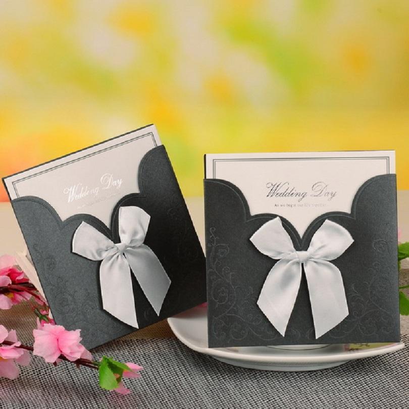 de boda elegante de la novia y el novio tarjeta de invitacin de boda invitacin