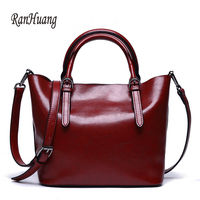 RanHuang Brand Women Large Handbags New 2017 High Quality Genuine Leather Handbags Women S Luxury Shoulder