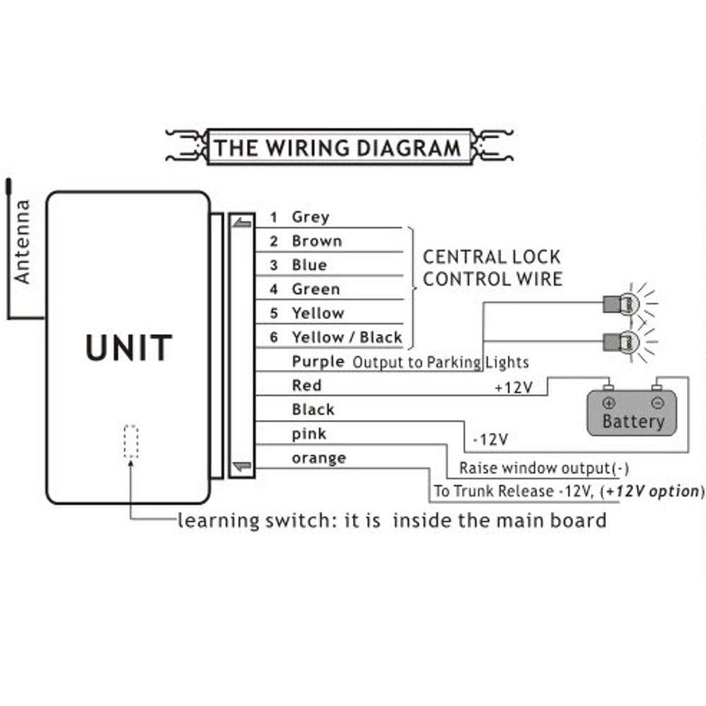 Wiring Diagram Central Locking Kit
