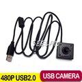 MINI Cámara de 0.3 Megapíxeles USB mini cámara ATM Banco ATM USB Cámara 3.7mm Lente Soporte Linux XP Sistema Industrial cámara